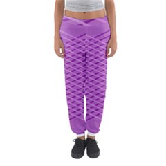 Abstract Lines Background Women s Jogger Sweatpants