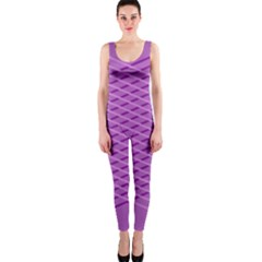 Abstract Lines Background Onepiece Catsuit