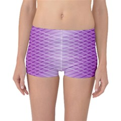 Abstract Lines Background Boyleg Bikini Bottoms