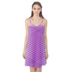 Abstract Lines Background Camis Nightgown