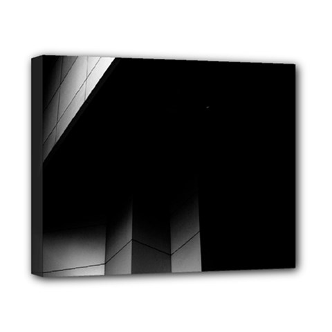 Wall White Black Abstract Canvas 10  X 8