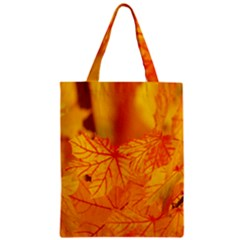 Bright Yellow Autumn Leaves Classic Tote Bag