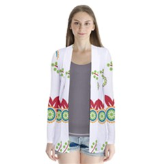 Colorful Floral Wallpaper Background Pattern Cardigans