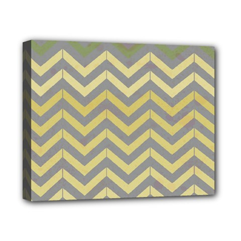 Abstract Vintage Lines Canvas 10  x 8
