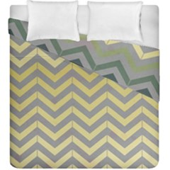Abstract Vintage Lines Duvet Cover Double Side (king Size)