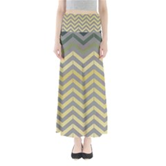 Abstract Vintage Lines Maxi Skirts