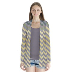 Abstract Vintage Lines Cardigans