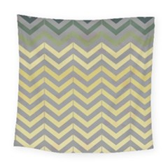 Abstract Vintage Lines Square Tapestry (large)