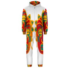 Mask Hooded Jumpsuit (Men)