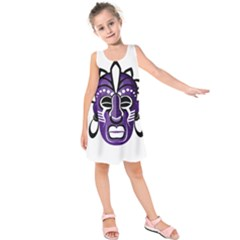 Mask Kids  Sleeveless Dress