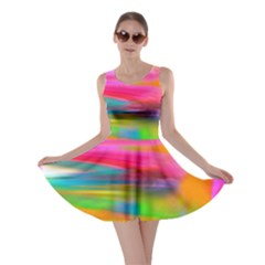 Abstract Illustration Nameless Fantasy Skater Dress