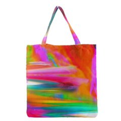 Abstract Illustration Nameless Fantasy Grocery Tote Bag