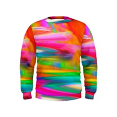 Abstract Illustration Nameless Fantasy Kids  Sweatshirt