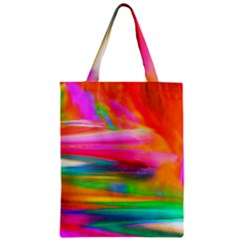 Abstract Illustration Nameless Fantasy Zipper Classic Tote Bag