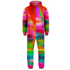 Abstract Illustration Nameless Fantasy Hooded Jumpsuit (men)