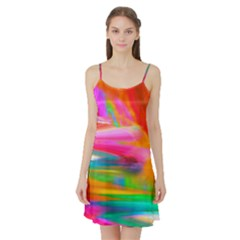 Abstract Illustration Nameless Fantasy Satin Night Slip