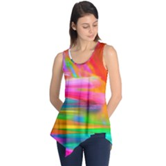 Abstract Illustration Nameless Fantasy Sleeveless Tunic