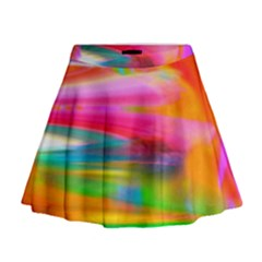 Abstract Illustration Nameless Fantasy Mini Flare Skirt