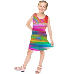 Abstract Illustration Nameless Fantasy Kids  Tunic Dress
