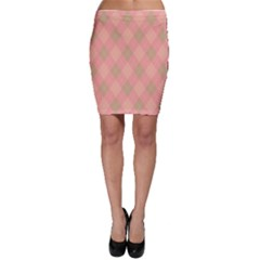Plaid pattern Bodycon Skirt
