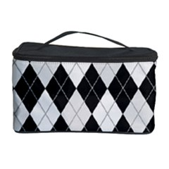 Plaid pattern Cosmetic Storage Case