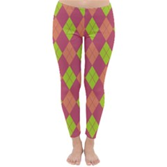 Plaid pattern Classic Winter Leggings