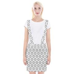 Pattern Suspender Skirt
