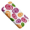 Colorful Seamless Floral Flowers Pattern Wallpaper Background Apple iPhone 4/4S Hardshell Case (PC+Silicone) View5