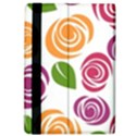 Colorful Seamless Floral Flowers Pattern Wallpaper Background iPad Air Flip View4