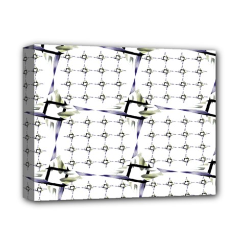 Fractal Design Pattern Deluxe Canvas 14  X 11