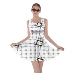 Fractal Design Pattern Skater Dress