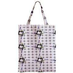 Fractal Design Pattern Zipper Classic Tote Bag