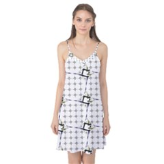 Fractal Design Pattern Camis Nightgown