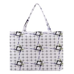 Fractal Design Pattern Medium Tote Bag
