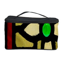 A Detail Of A Stained Glass Window Cosmetic Storage Case
