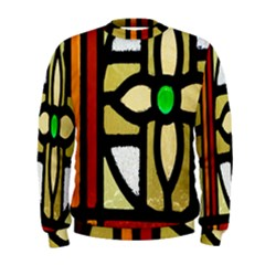 A Detail Of A Stained Glass Window Men s Sweatshirt