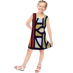 A Detail Of A Stained Glass Window Kids  Tunic Dress