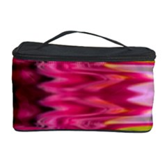 Abstract Pink Colorful Water Background Cosmetic Storage Case