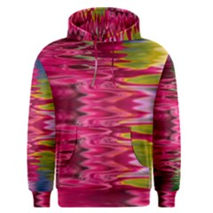 Abstract Pink Colorful Water Background Men s Pullover Hoodie