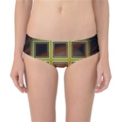 Drawing Of A Color Fractal Window Classic Bikini Bottoms