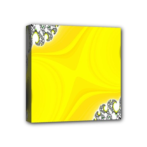 Fractal Abstract Background Mini Canvas 4  X 4