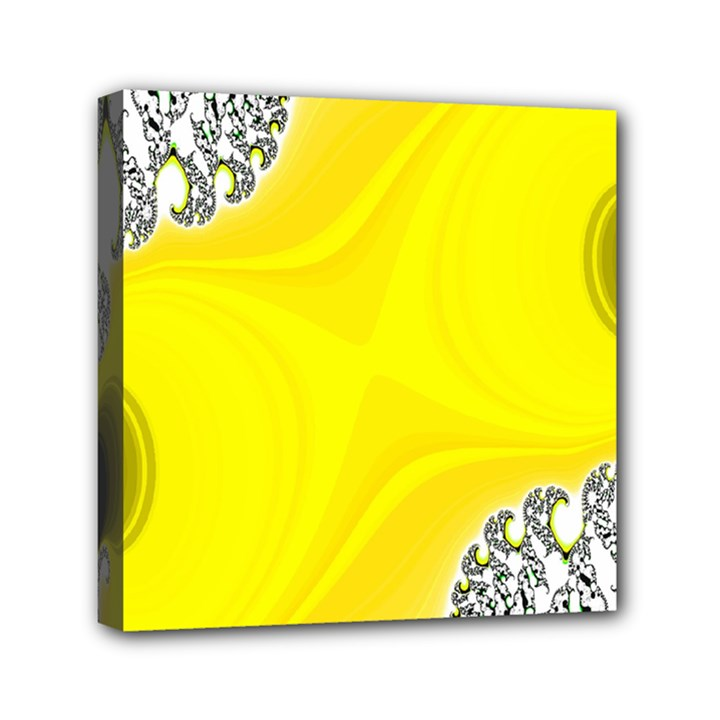 Fractal Abstract Background Mini Canvas 6  x 6