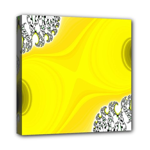 Fractal Abstract Background Mini Canvas 8  X 8
