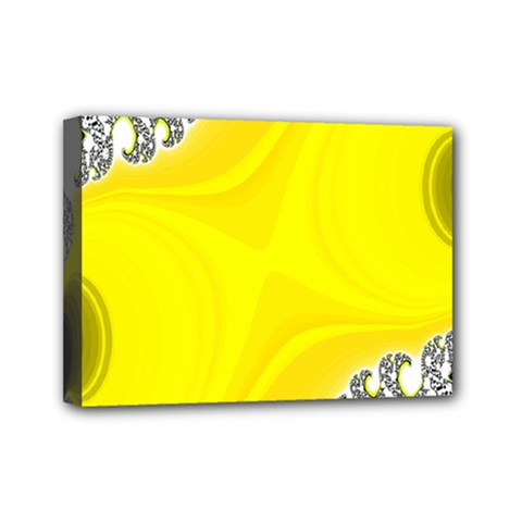 Fractal Abstract Background Mini Canvas 7  x 5