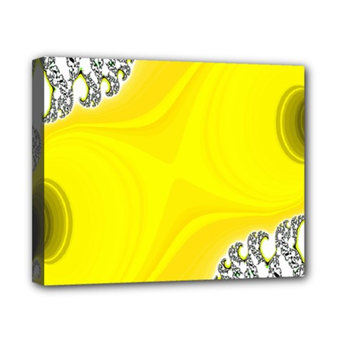 Fractal Abstract Background Canvas 10  X 8