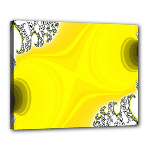 Fractal Abstract Background Canvas 20  x 16