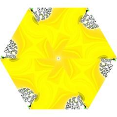 Fractal Abstract Background Mini Folding Umbrellas