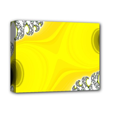 Fractal Abstract Background Deluxe Canvas 14  X 11