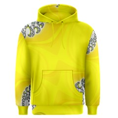 Fractal Abstract Background Men s Pullover Hoodie