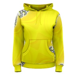 Fractal Abstract Background Women s Pullover Hoodie